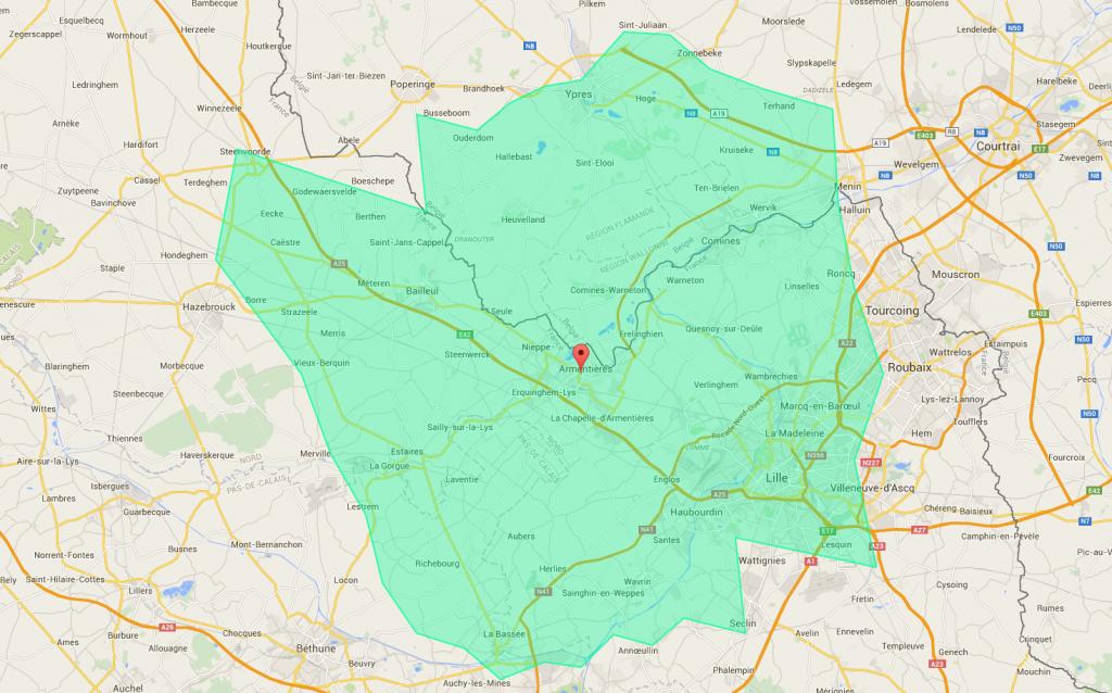 Zone intervention APC59